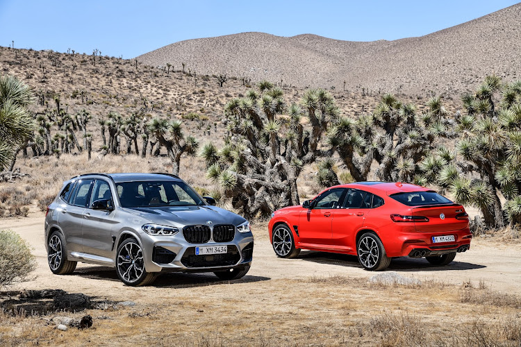 The new BMW X3 & X4 M models