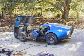 Abandoned Shelby Daytona Coupe