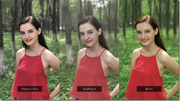 Hasil Foto Kamera Xiaomi Mi A1 vs iPhone 7 Plus vs OnePlus 5 (Official)