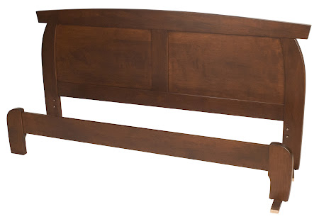 Haiku Platform Bed in Chocolate Cherry