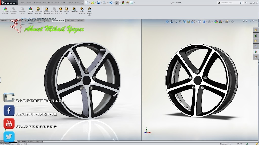solidworks jant cadprofesor 3