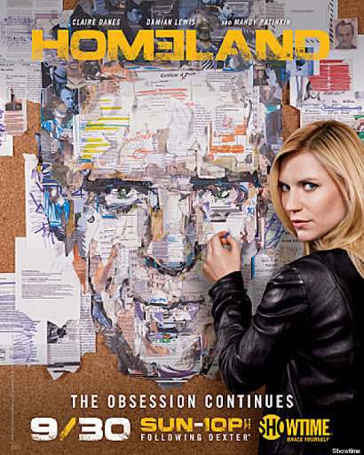 "Claire Danes as Carrie Mathison and Damian Lewis as Nicholas ""Nick"" Brody in Homeland (Season 2) - Photo: Courtesy of SHOWTIME - Photo ID: Homeland_ADV125964A_HOME2_Collage_PR_AD"