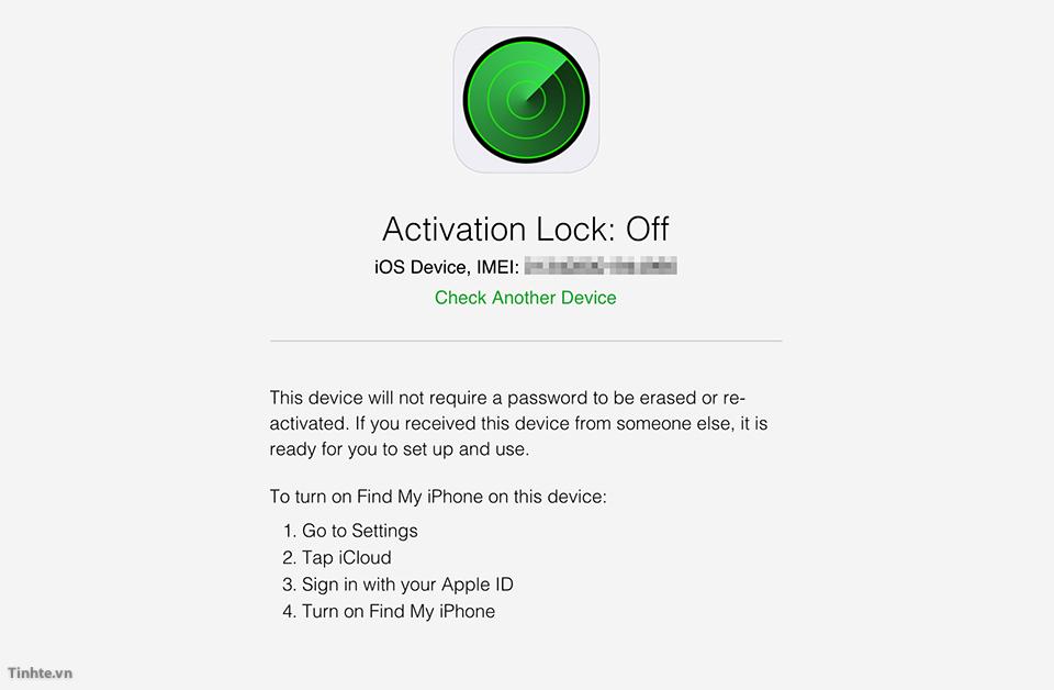 Cách kiểm tra Iphone khóa iCloud chính xác nhất