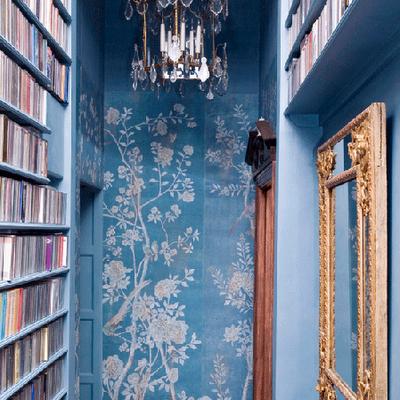 pourquoi pas un couloir bleu canard forum d coration int rieure. Black Bedroom Furniture Sets. Home Design Ideas