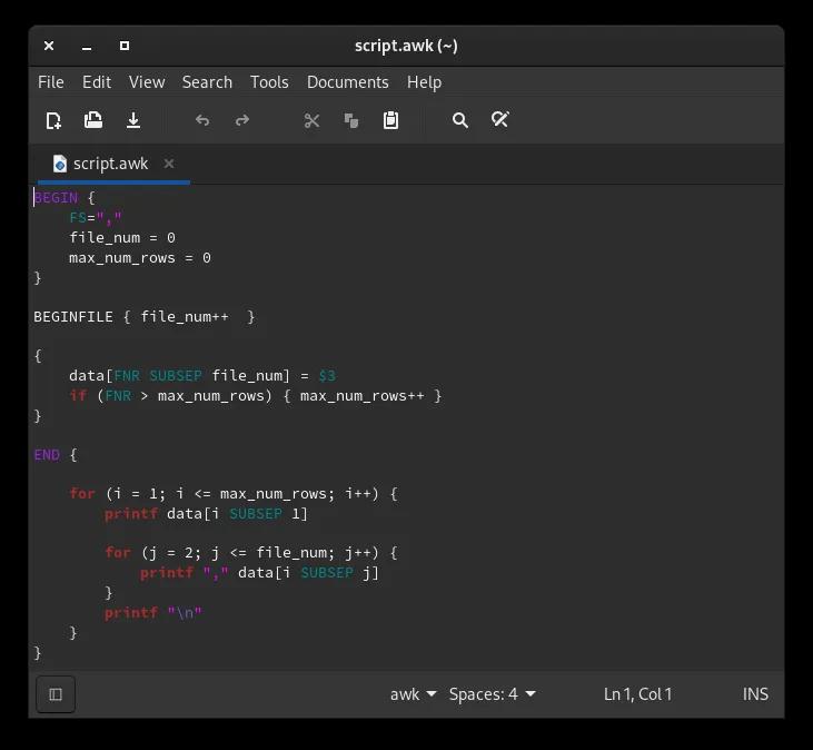 Linux Text Editors Xed