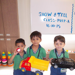 2015-10-16 Class Prep-A Show and Tell