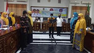 Wali Kota Bima Lantik Pengurus Forum PUSPA Maja Labo Dahu