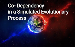 Co-Dependency in a Simulated Evolutionary Process