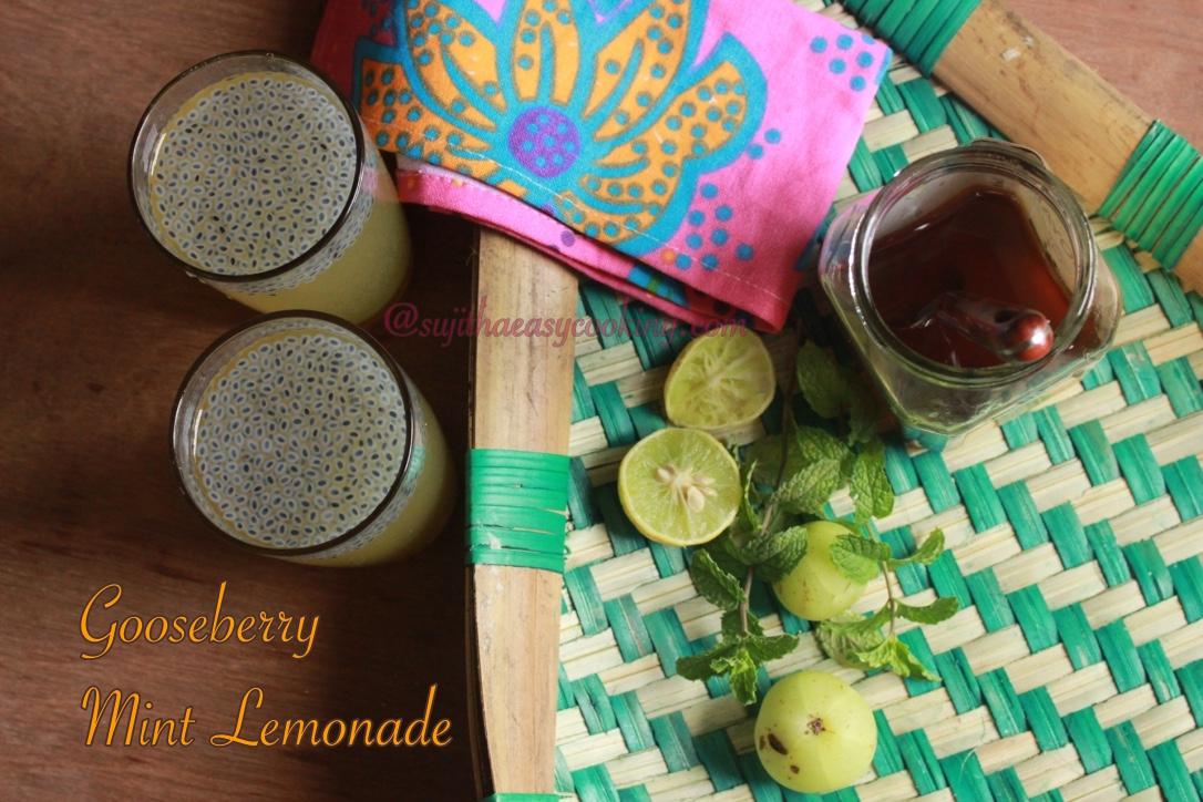 Gooseberry Mint Lemonade6