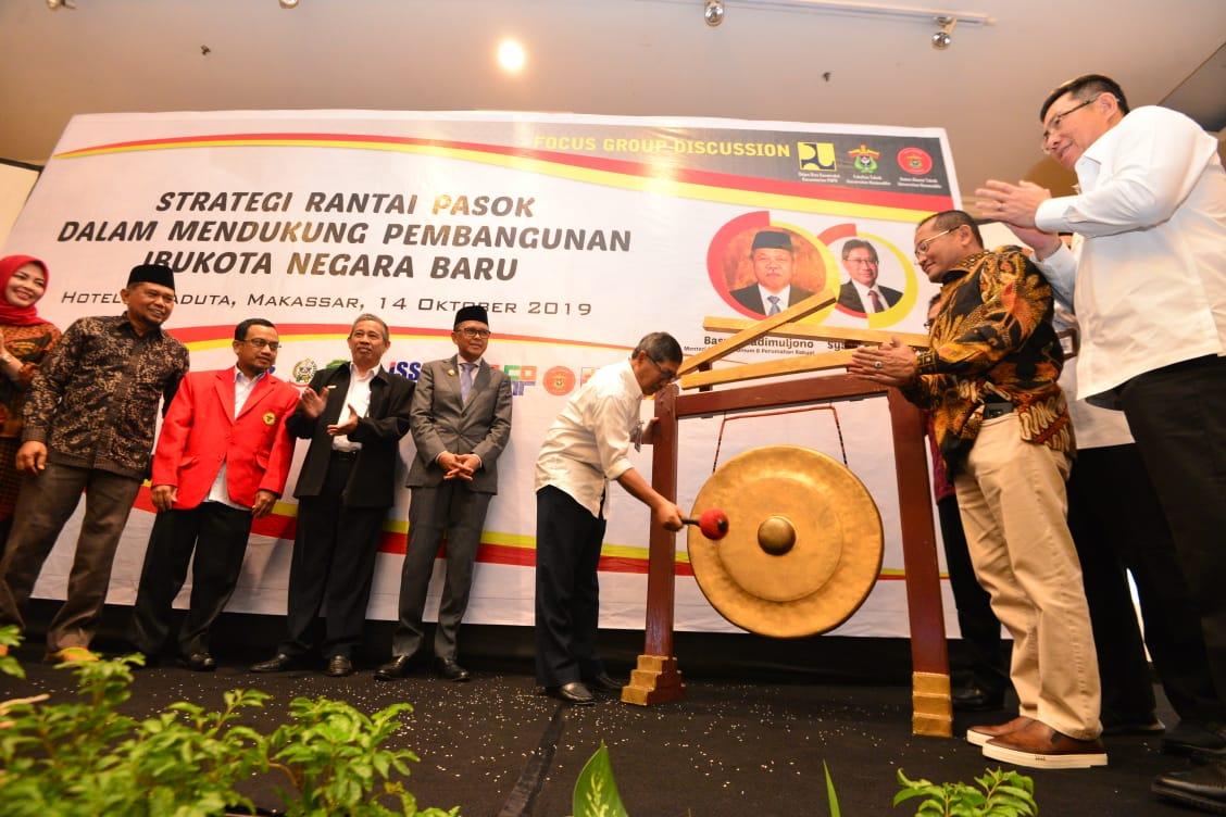 Syarif Burhanuddin Harap NA Serius Jadikan Sulsel Sebagai Penyangga Pangan Ibu Kota Negara Baru Kaltim