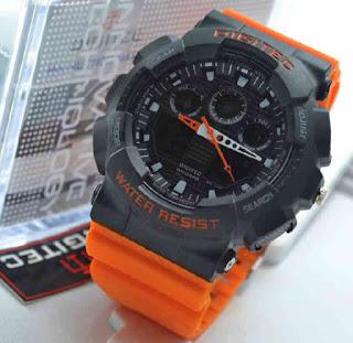 Jual jam tangan Digitec 2011T Oren