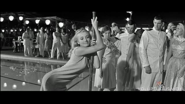 Barbara Bouchet poll dancing drunk.