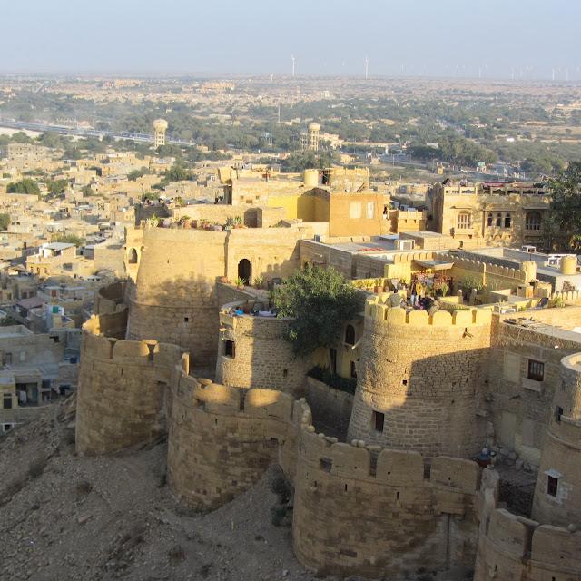 One corner of Jaisalmer Fort