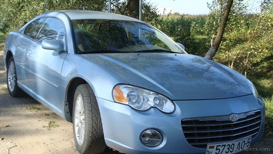 2002 chrysler sebring coupe specifications pictures prices. Black Bedroom Furniture Sets. Home Design Ideas