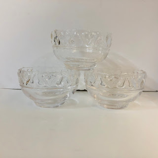 """Tiffany & Co. Hearts 5"""" Bowls, Set of 3"""