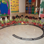 Introduction to Railways(Train) in Nursery (2014-15) at Witty World