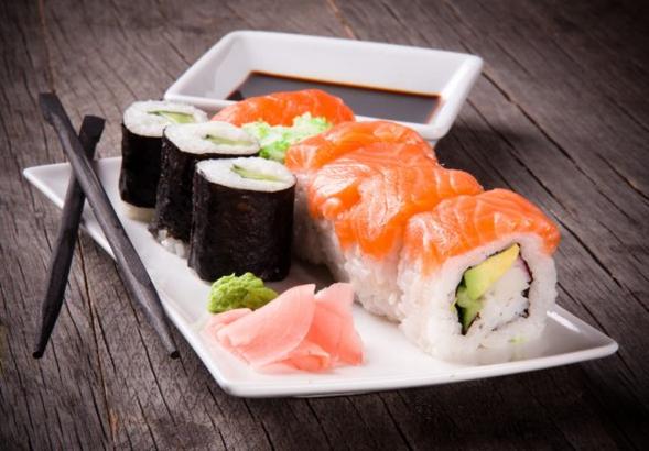 Sushi japonés receta