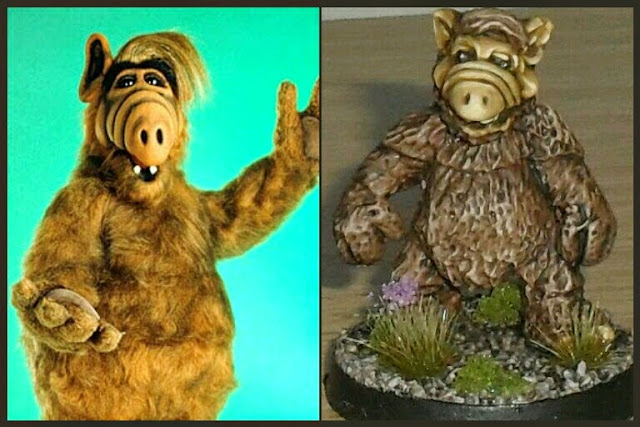 Alf de Four A miniatures