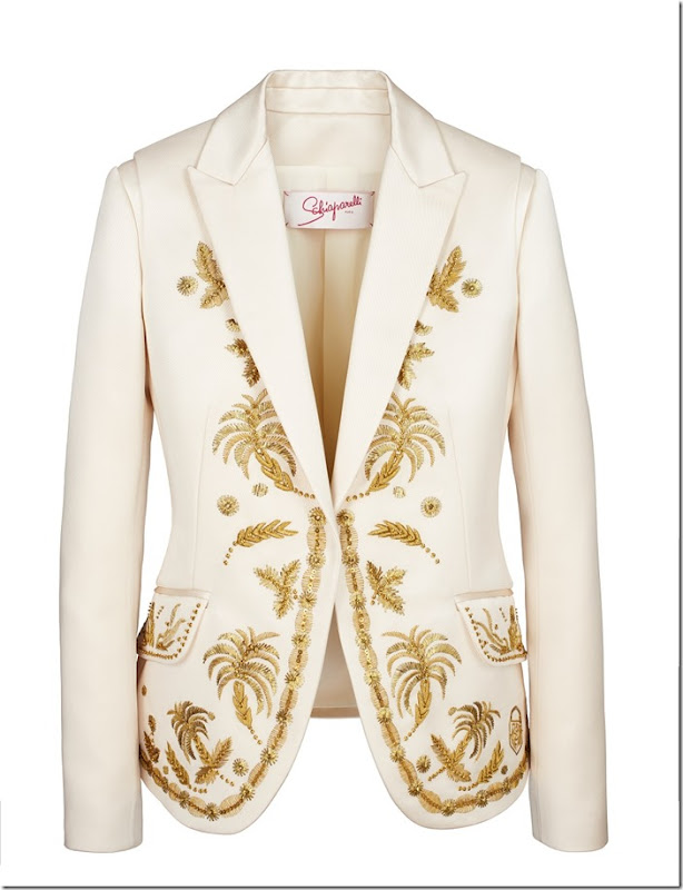 The golden palm jacket FLAT
