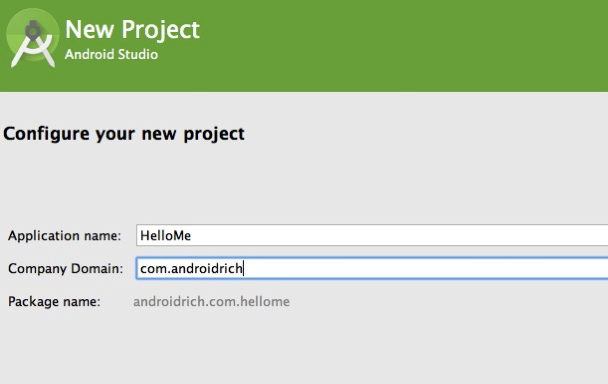 How to create your first Android Application with Android