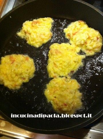 frittelle salate di riso