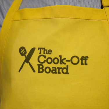We have aprons!