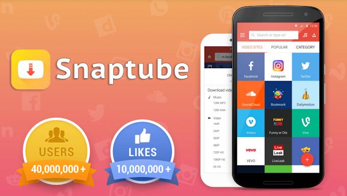 SnapTube (MOD Xoá Quảng Cáo/VIP)