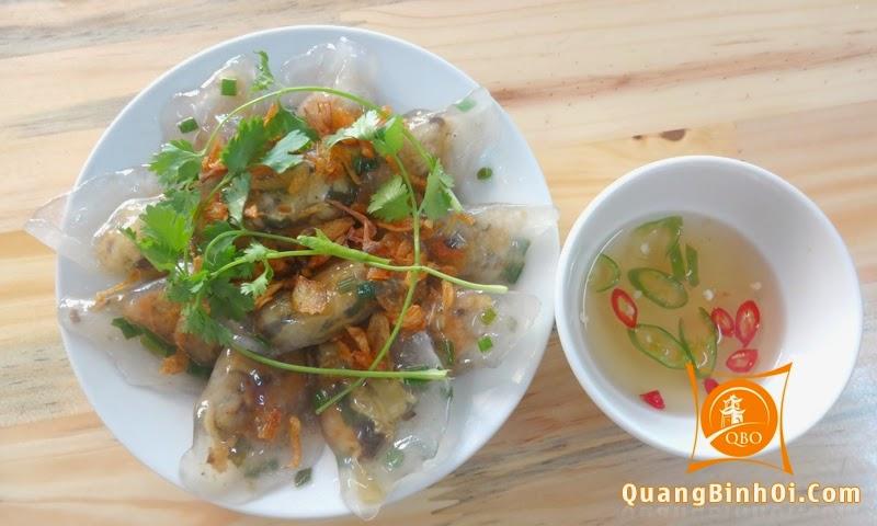Bánh lọc trần của quán Quảng Bình Ơi