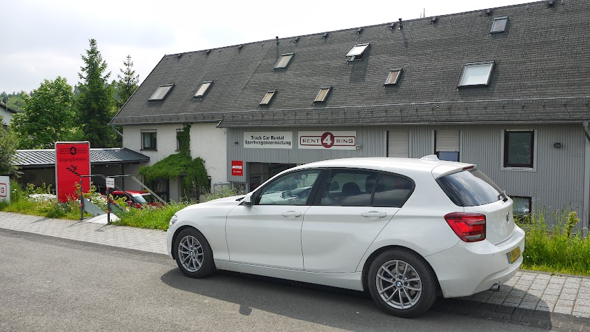 Rent4Ring Head Quarters at the Nurburgring