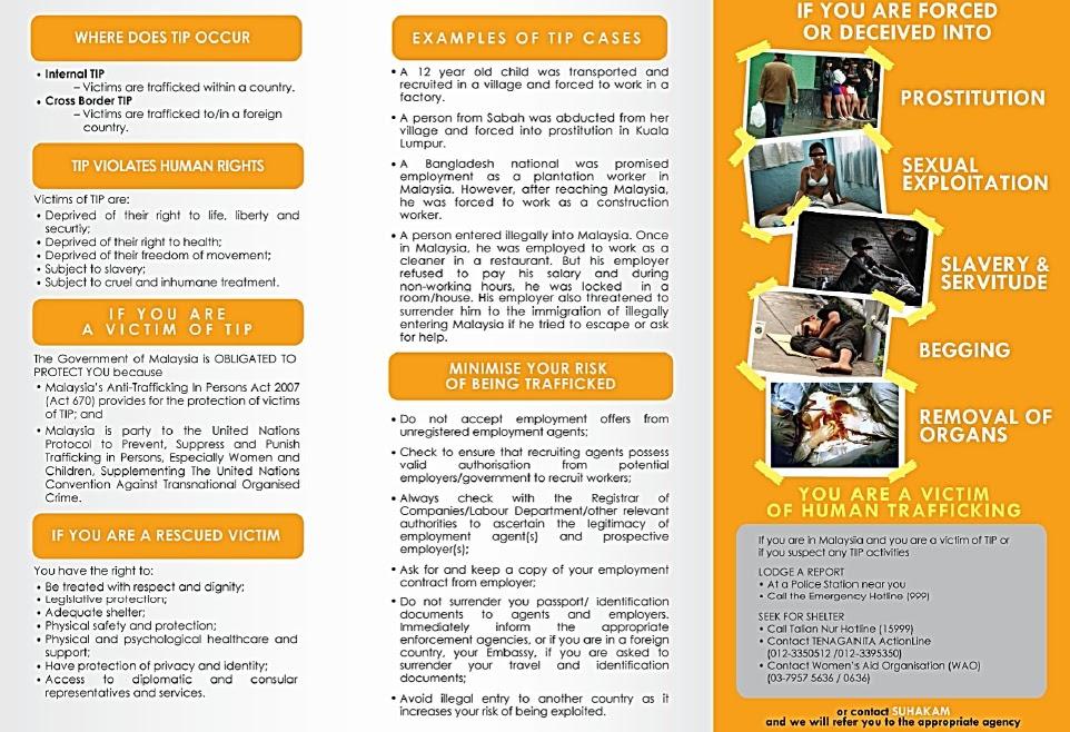 Anti Human Trafficking Anti Trafficking in Persons