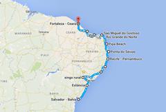 Salvador - Fortaleza
