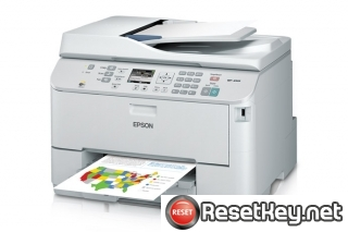 Reset Epson WorkForce WP-4533 printer Waste Ink Pads Counter