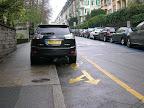 Avenue Peschier, Contresens cyclable.