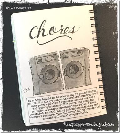 G52 Prompt 37 Chores