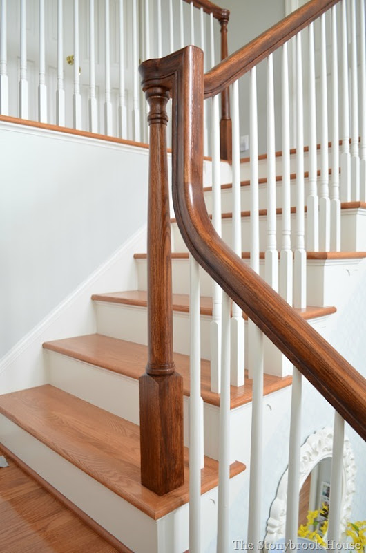 Stair Post Rail