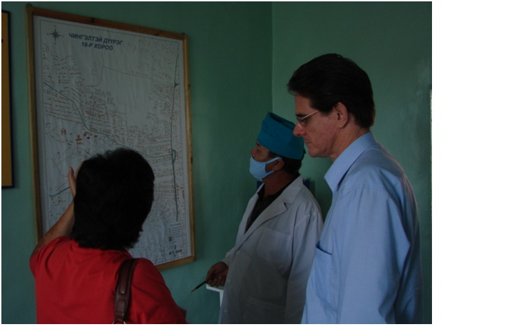 2010-Visit to Elderly Health center