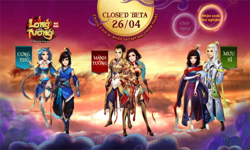 Long Tướng bất ngờ ấn định ngày tiến hành closed beta 1