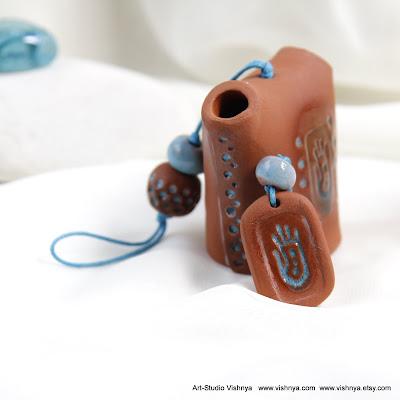 Шаманские колокольчики - авторская керамика Элли Вишневской. Hand Made Ceramic and pottery Eco-Friendly Home Decor by Elly Vishnevsky.