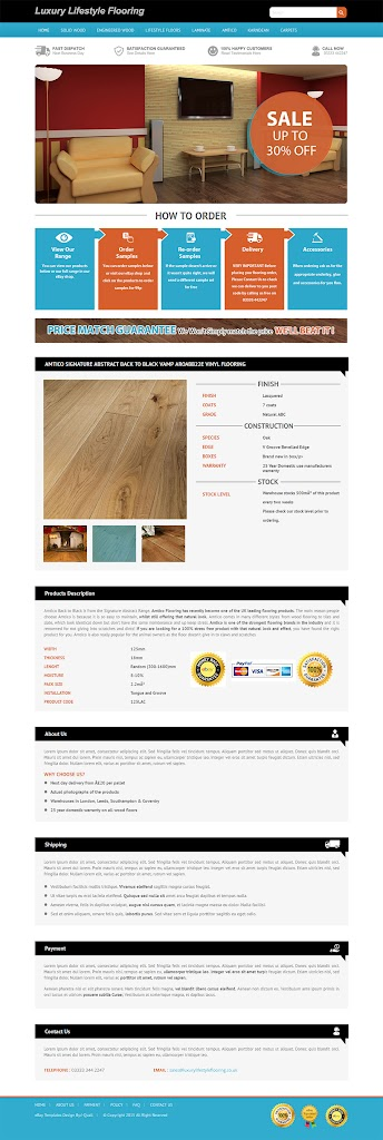 professional ebay listing template create attractive ebay