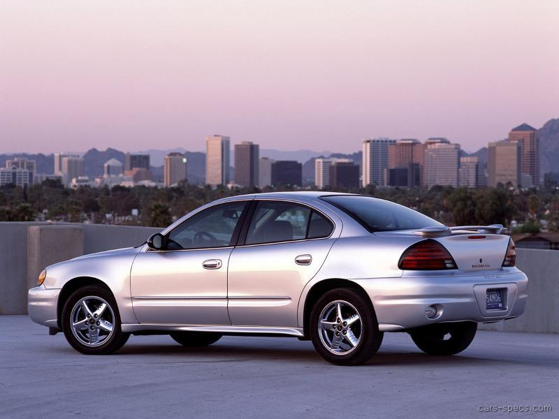 2003 pontiac grand am sedan specifications pictures prices. Black Bedroom Furniture Sets. Home Design Ideas