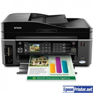 How to reset Epson WorkForce 323 printer