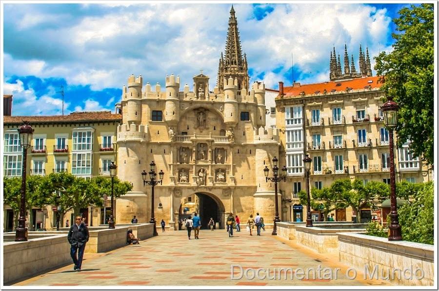 Arco de Santa Maria Burgos Espanha