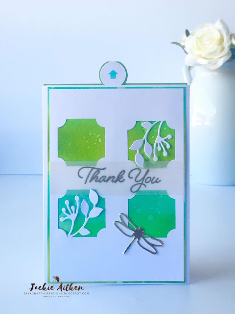 stampin' up! darling label punch, stitched season framelits