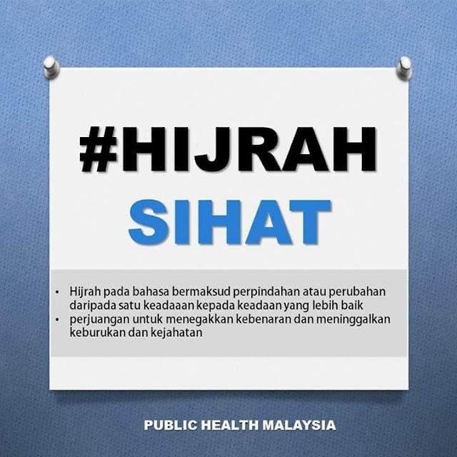 Jom hijrah sihat, jom... 😊