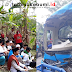Doa Bersama di Lokasi Kecelakaan Bus Maut Cikidang - Sukabumi