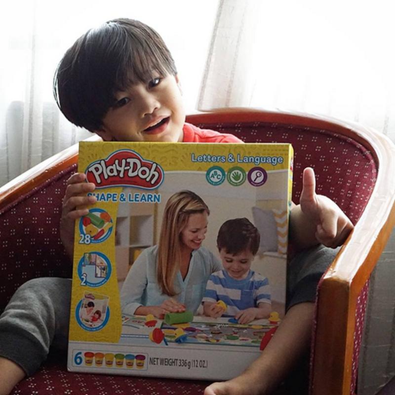 PLAY-DOH , bermain sambil belajar !