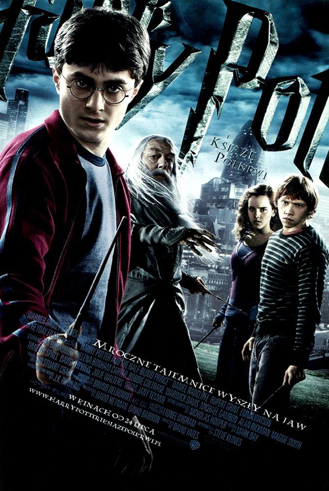 Ulotka filmu 'Harry Potter i Książę Półkrwi (przód)'