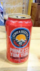 Denver Beer Co Princess Yum Yum Raspberry Kolsch