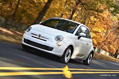 Fiat 500 Autumn Drive