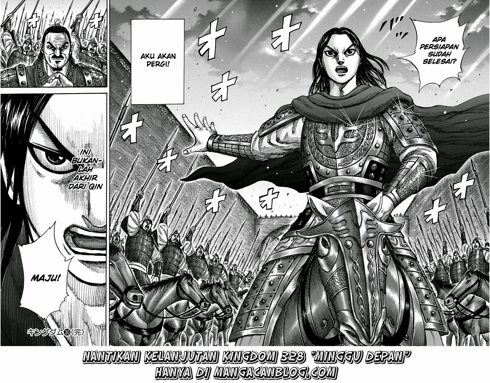 Baca Manga Kingdom Chapter 327 Komik Station